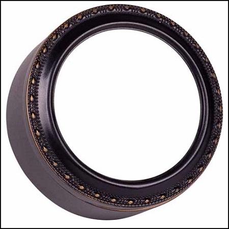 Black Round Treasure Box