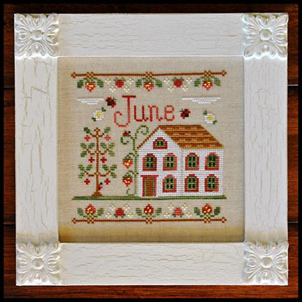 Country Cottage Needleworks Cottage of the Month- June