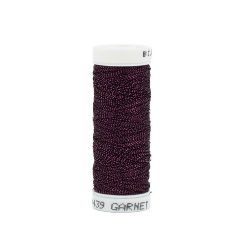 Bijoux Metallic Thread - 439 Garnet