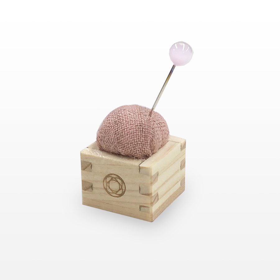 Pincushion of Mini Masu (Pink)