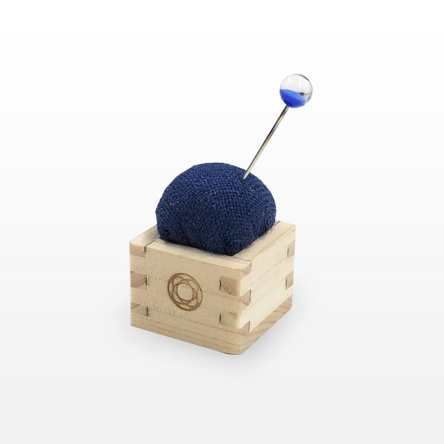 Pincushion of Mini Masu (Blue)