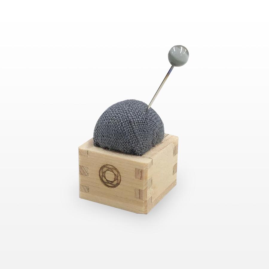 Pincushion of Mini Masu (Gray)