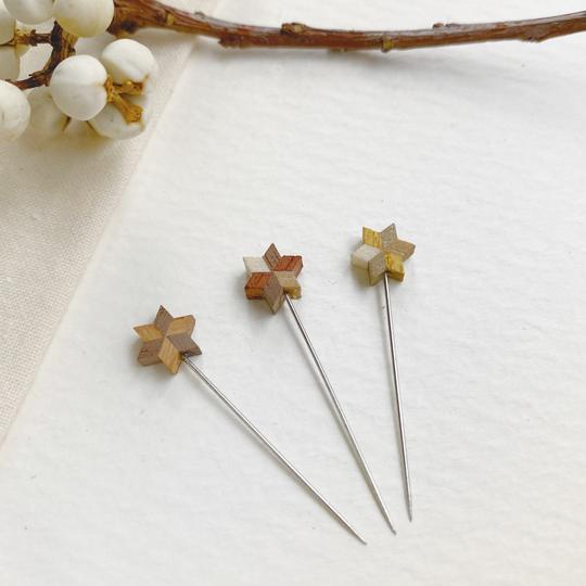COHANA PARQUET STAR PINS