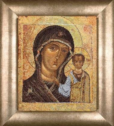Lady of Kazan icon by Thea Gouverneur