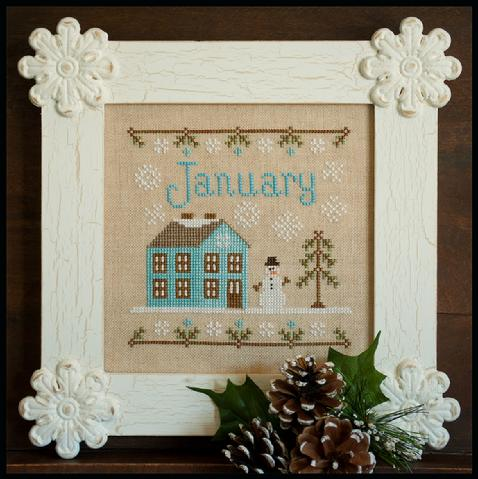 Country Cottage Needleworks Cottage of the Month-January
