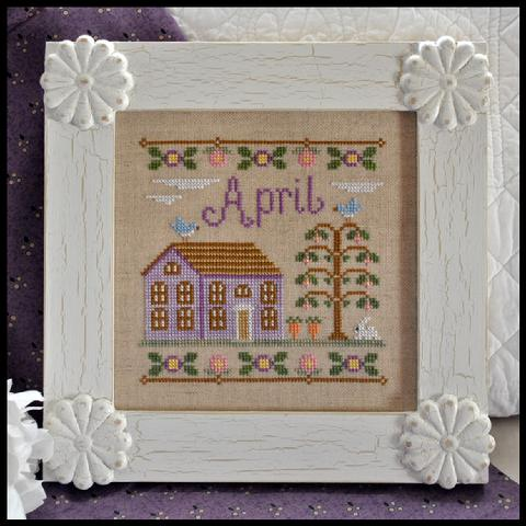 Country Cottage Needleworks Cottage of the Month- April