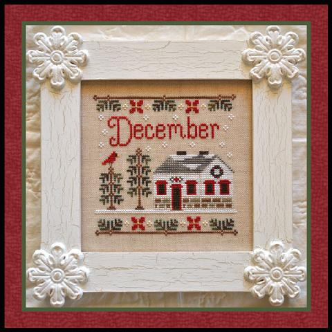 Country Cottage Needleworks Cottage of the Month- December