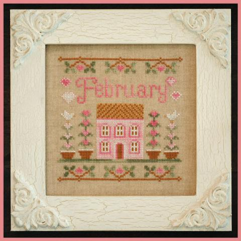 Country Cottage Needleworks Cottage of the Month- February