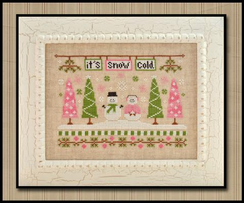 Country Cottage Needleworks It's snow cold