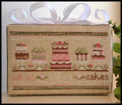 Country Cottage Needleworks Party cakes