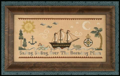 Sailing, sailing by Little House Needleworks