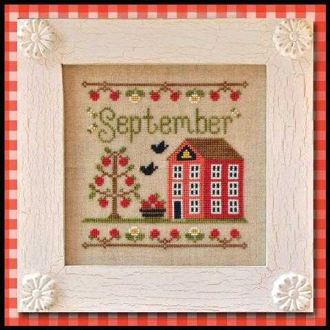 Country Cottage Needleworks Cottage of the Month- September