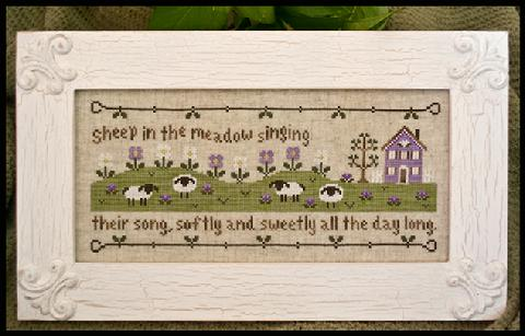 Country Cottage Needleworks Sheep In The Meadow