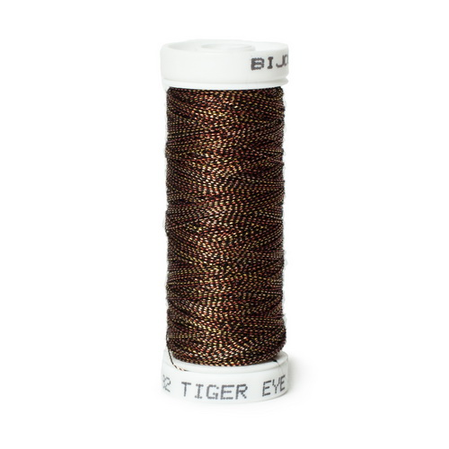Bijoux Metallic Thread - 482 Tiger Eye