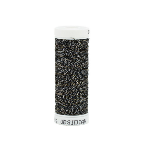Bijoux Metallic Thread - 484 Obsidian