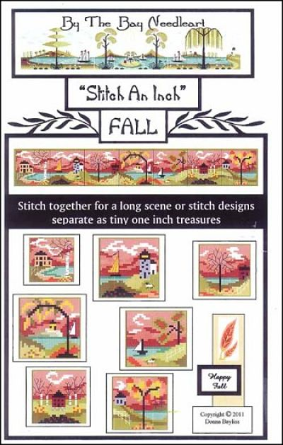 By The Bay Needleart Stitch An Inch Fall