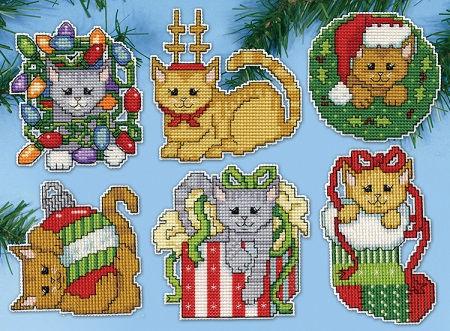 Christmas kittens,5917,by Design Works