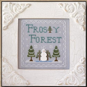 Frosty Forest by Country Cottage Needleworks
