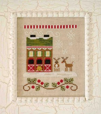 Country Cottage Needleworks Reindeer Stables