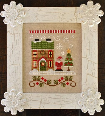 Country Cottage Needleworks Santa's House