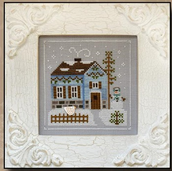 Snowgirl's Cottage by Country Cottage Needleworks