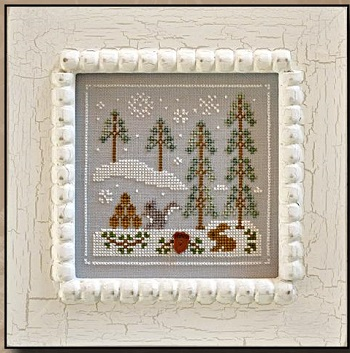 Snowy Friends by Country Cottage Needleworks