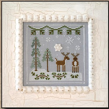 Snowy Reindeer by Country Cottage Needleworks