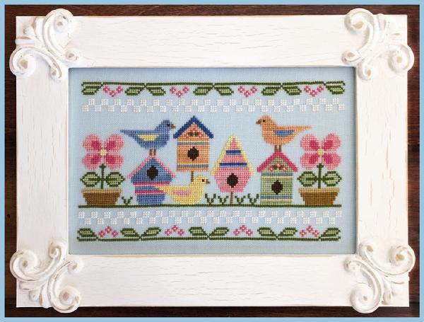 Spring birds by Country Cottage Needlework