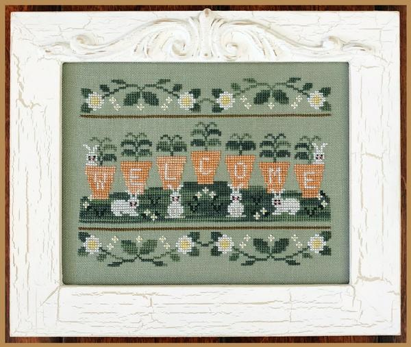 Welcome Spring by Country Cottage Needlework