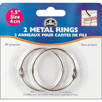 Metal Rings 1-1/2 by DMC
