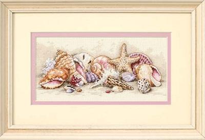 Seashell Treasures-65035- by Dimensions