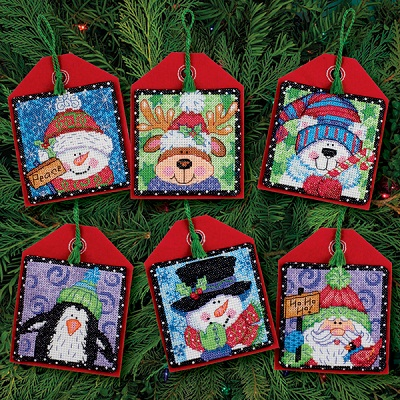Christmas Pals Ornaments-70-08842- by Dimensions