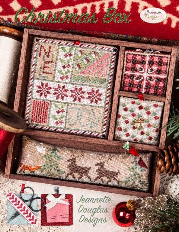 Jeannette Douglas Designs Christmas Box