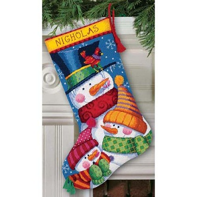 Freezin' Season Stocking-9139- by Dimensions