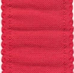 BANDING,Red with Scalloped Border,24CT,72739
