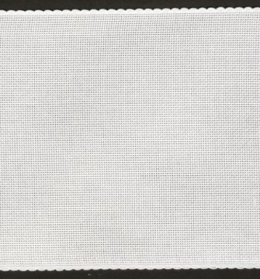 BANDING White with Scalloped Border,16CT,74351