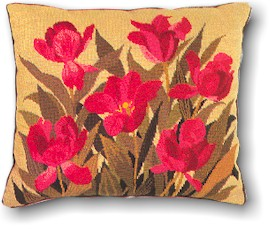 Floral Pillow by Eva Rosenstand