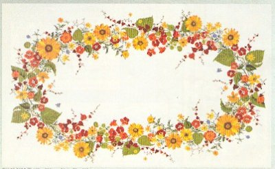 Eva Rosenstand Sunflowers tablecloth