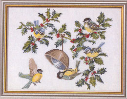 Eva Rosenstand Birds and Holly