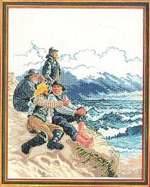 Fishermen by Eva Rosenstand