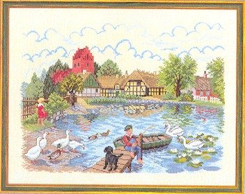 Eva Rosenstand Fishing pond