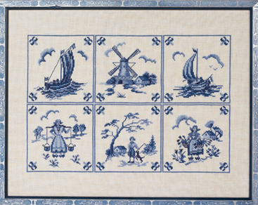 Eva Rosenstand Blue dutch tiles
