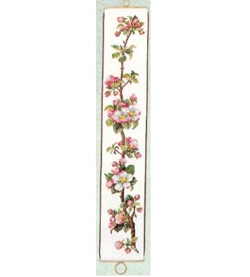 Apple Blossom Bellpull by Eva Rosenstand