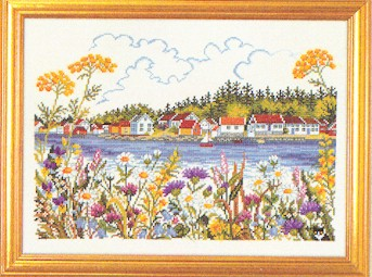Lake homes by Eva Rosenstand