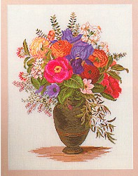 Floral arrangement by Eva Rosenstand
