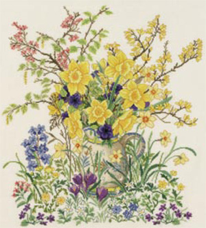 Easter flowers by Eva Rosenstand