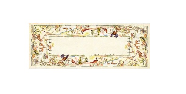 Eva Rosenstand Wildlife Tablerunner