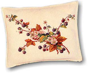 Eva Rosenstand Blackberries pillow