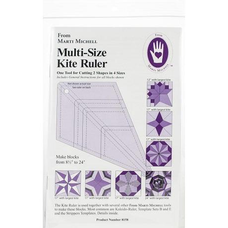 Marti Michell 8158M Multisize Kite Ruler
