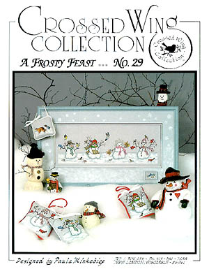 Crossed Wing Collection A Frosty Feast